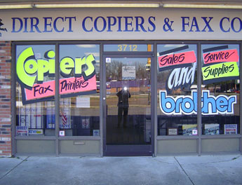 Direct Copiers & Fax Storefront